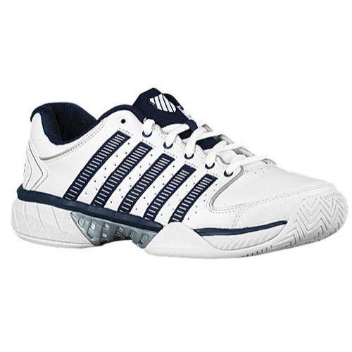 K Swiss Hypercourt Express LTR Mens Tennis Shoes (WhiteNavy