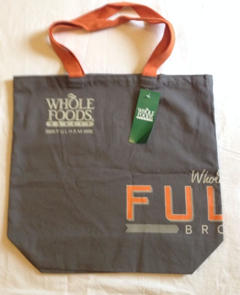 Details About Whole Foods London Fulham Tote Bag England Uk