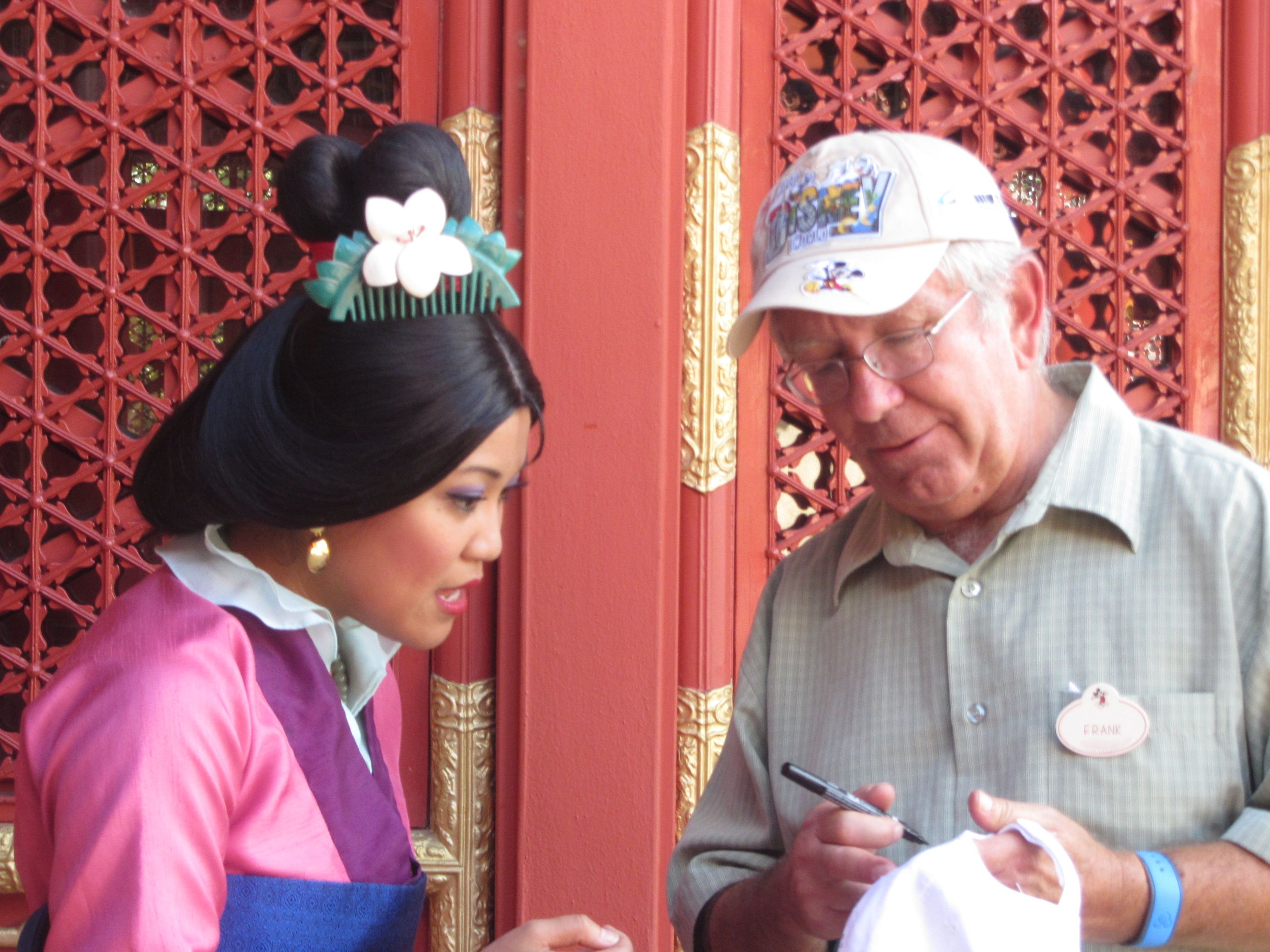 November 2013 Food Wine Festival Character Autographs Mulan Wine Festival Wine Recipes Disney Side