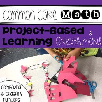 8 interactive and fun 1st and 2nd grade common core math enrichment projects that foster real life problem-solving. These project-based activities challenge elementary students and are perfect for gifted or highly capable students. The ideas in this resource have kids creating games, songs, using technology and so much more! Click the link to see what this is all about!