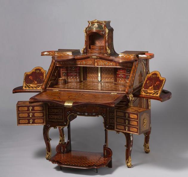 Writing desk, Abraham Roentgen (1711-93)