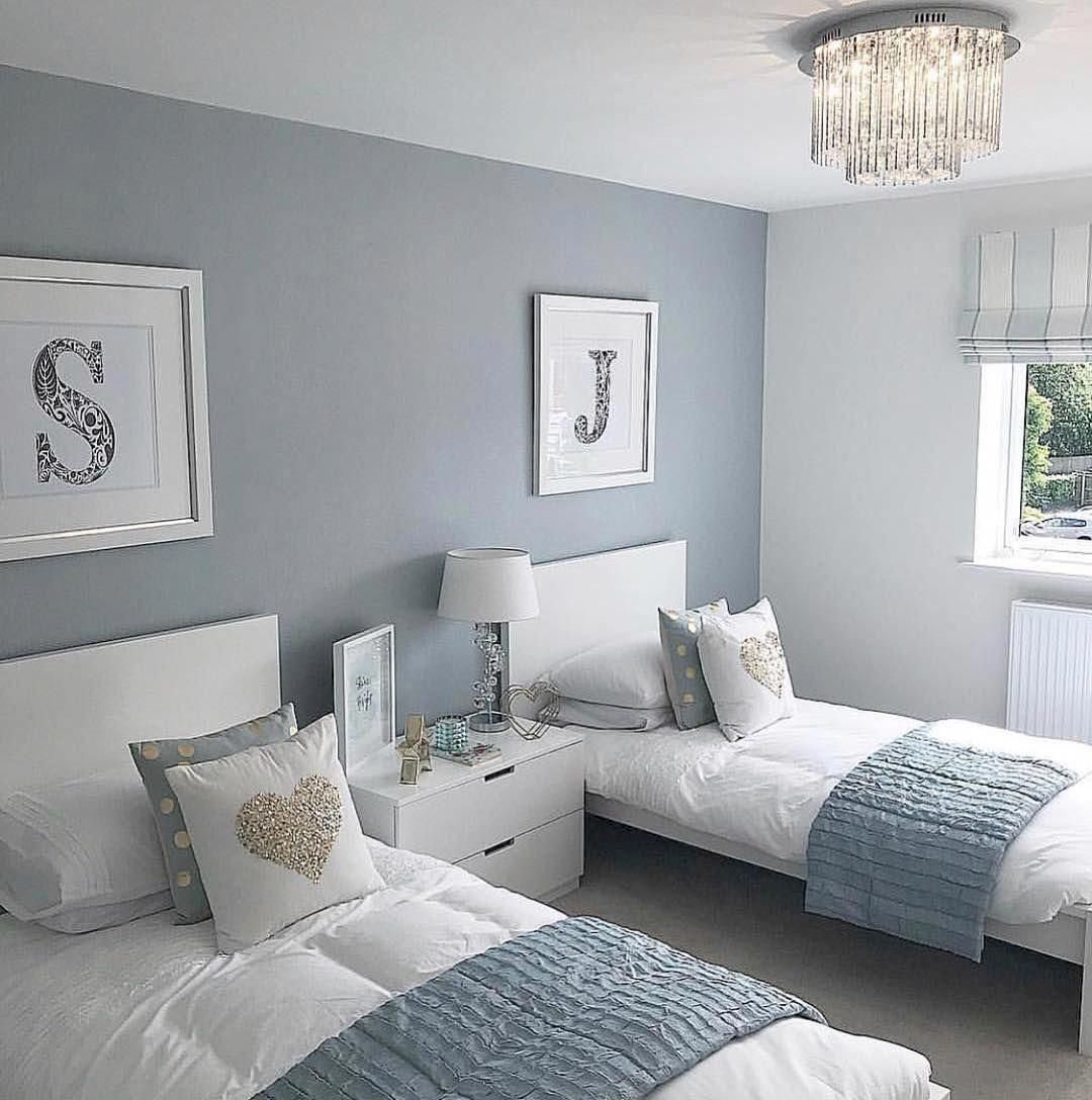 47 Inspiring Twins Bedroom Design Ideas For Your Twins Boy Interior Design Ideasforyour Twin Girl Bedrooms Interior Design Bedroom Small Luxurious Bedrooms
