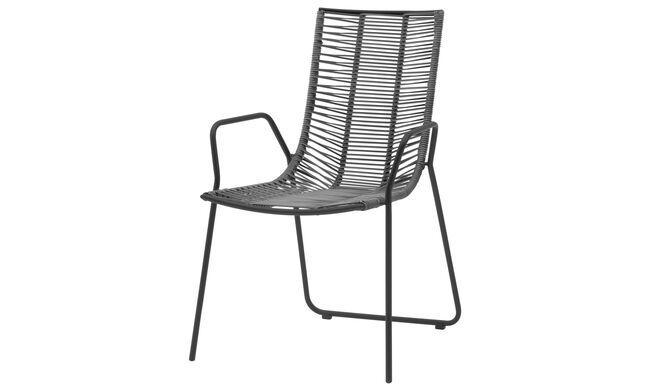Chaises De Jardin Chaise Elba Pour Usage Interieur Et Exterieur En 2020 Chaise D Exterieur Chaise De Jardin Exterieur Gris