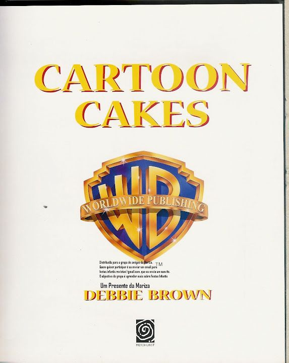 Cartoon Cakes How-To's...not that I'll ever make them, but ...