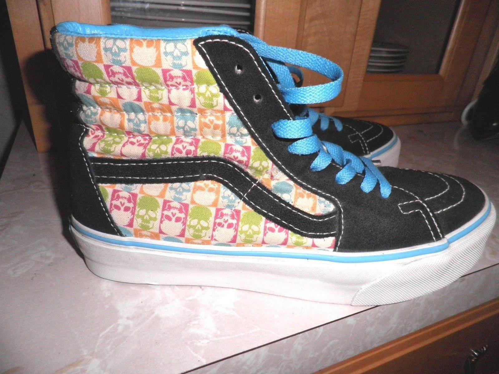 864bb34a2265f1 Vans Sk8 High Skull Shoes M 6.5  W 8.0