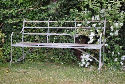 Buy Wrought Iron Regency / Victorian Garden Bench / Seat