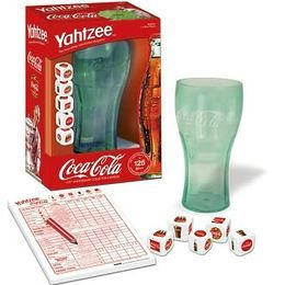 COCA-COLA brings a refreshing twist to America's all-time #1 dice game in this special 125th Anniversary Collector's Edition of the YAHTZEE® game