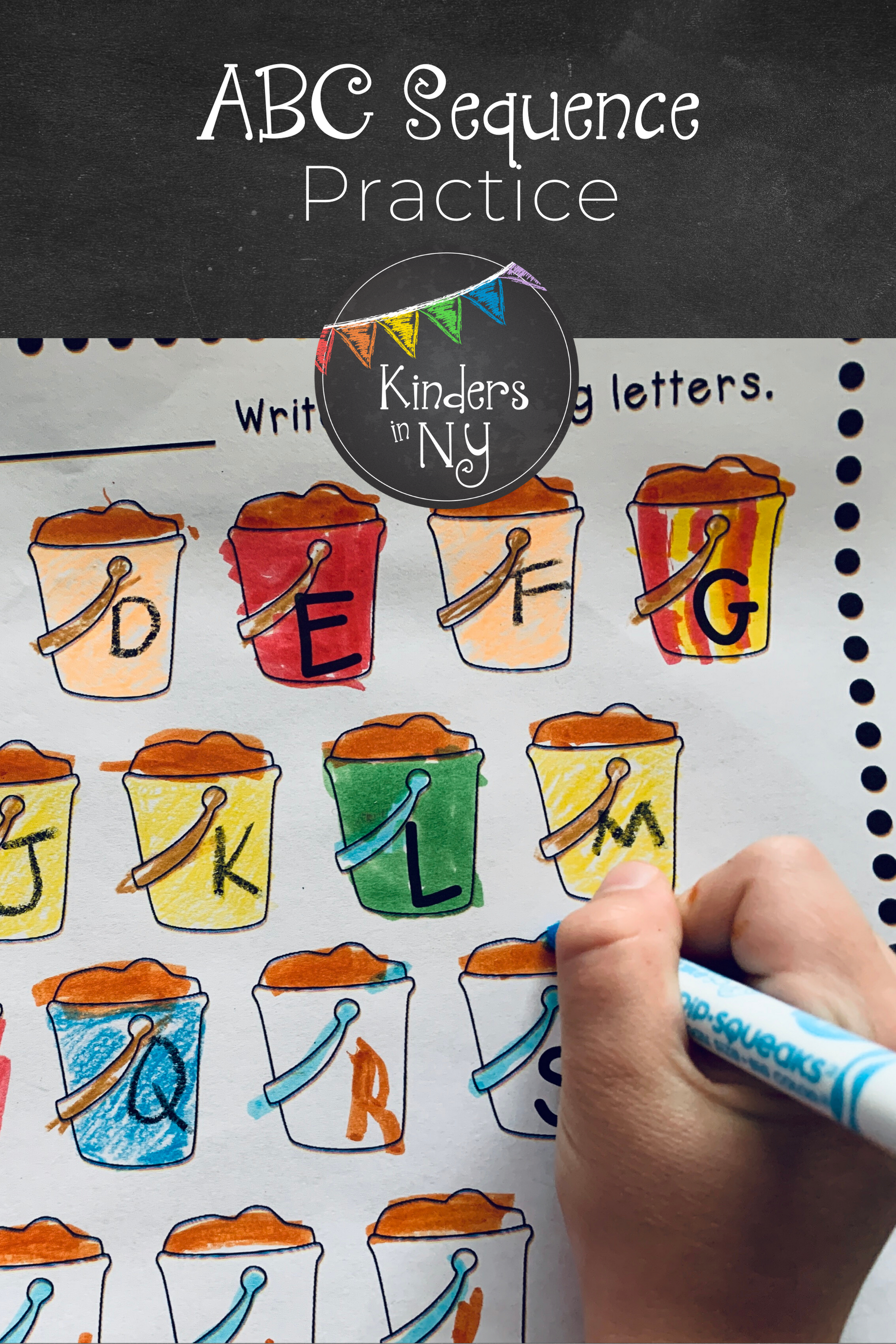 Alphabet Sequence Printables Summer Theme In