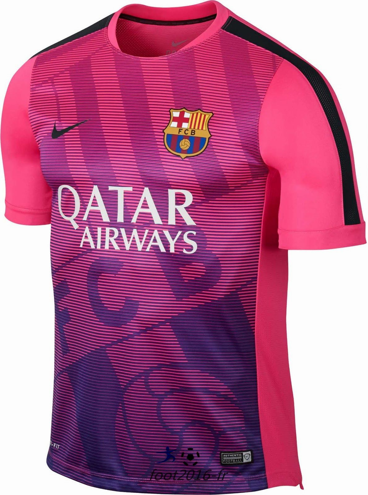 Vente Maillot Training Barcelone Rose PRE-MATCH 2015 2016 homme ... dfc925fae