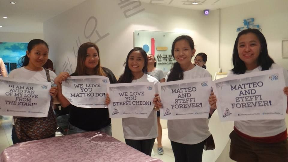 nice [Fan Post] Kim Soo Hyun Fans in the Philippines during the 'Secretly Greatly' Premiere at KCC