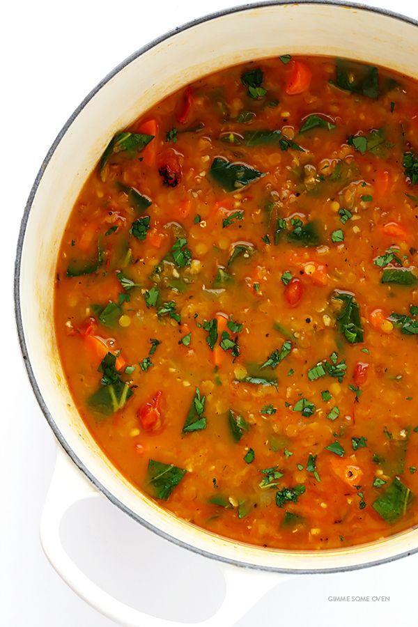Italian Lentil Soup Gimme Some Oven Recipe Lentil Soup Recipes Recipes Delicious Soup