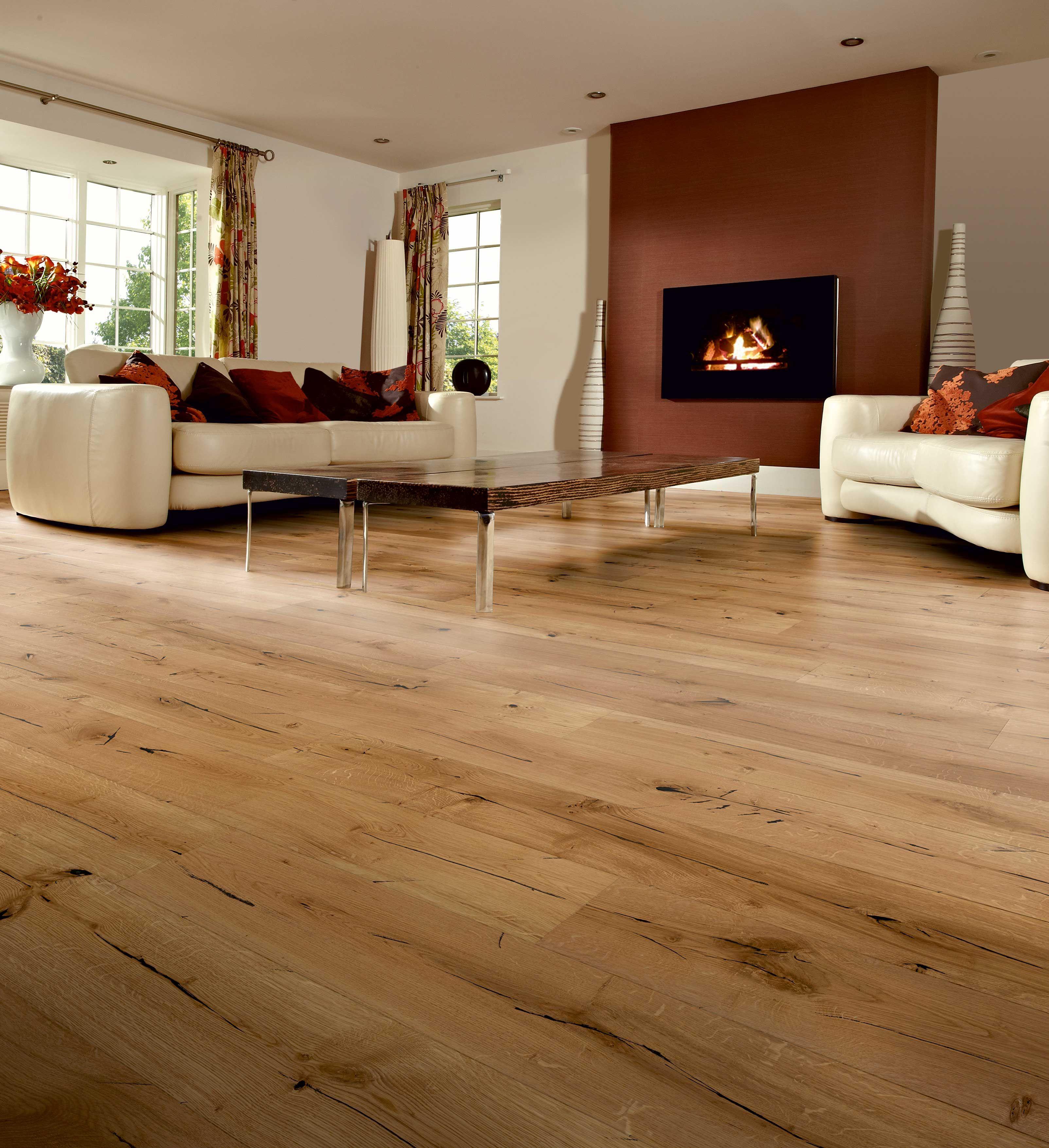 Berkeley Natural Oak Engineered wood floors, Oak wood