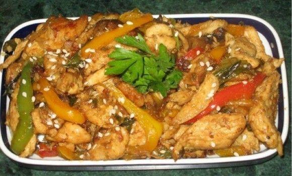 فاهيتا الدجاج Food Arabic Food Chicken