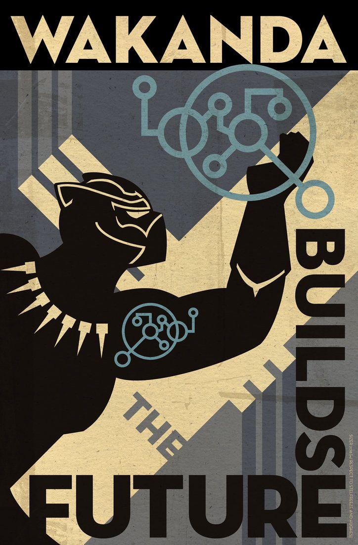 Wakanda Science Poster 2018 by PaulSizer.deviantart.com on @DeviantArt