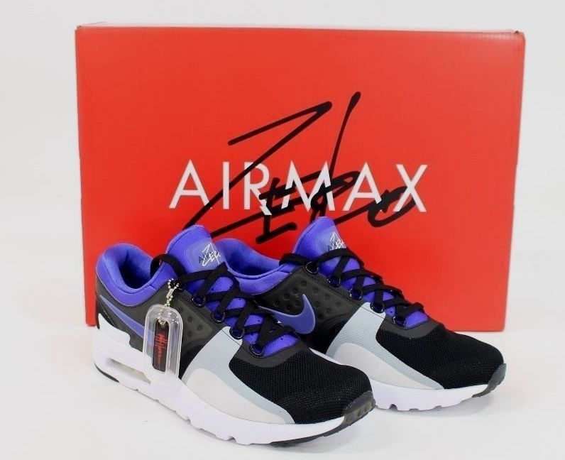 35bd3167b947 Nike Air Max Zero QS Black   Persian Violet Sz.9 789695 004