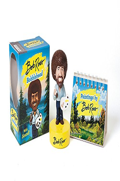 Bob Ross Bobblehead With Sound Rp Minis By Bob Ross Rp Minis Bobble Head Bob Books Bobblehead Figures