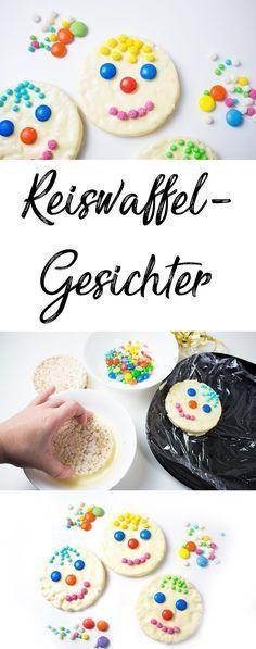 Faschingsparty - 4 schnelle Ideen für bunte Snacks