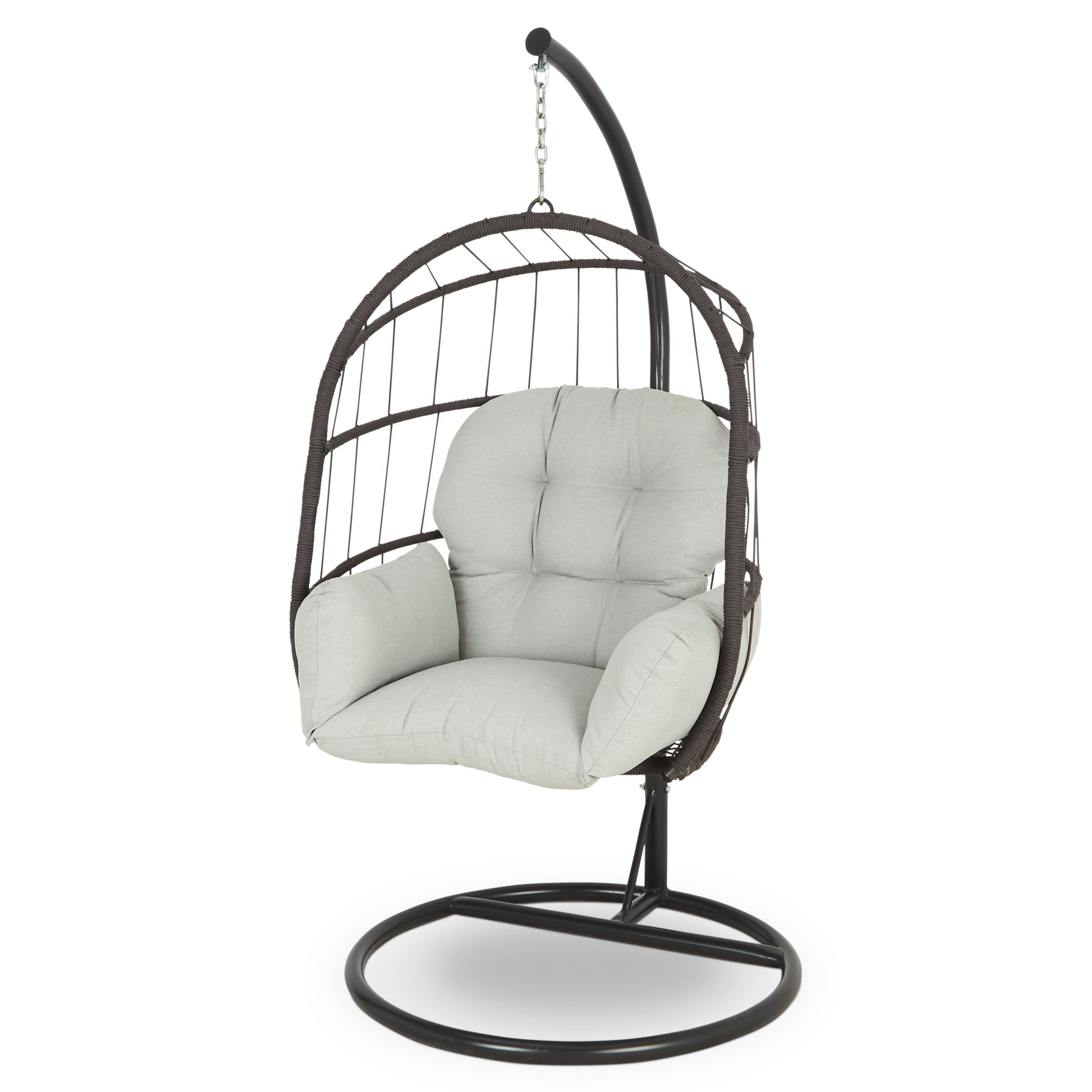 Cannock Metal Egg Chair - B&Q for all your home and garden