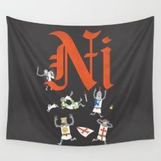 Ni! Wall Tapestry