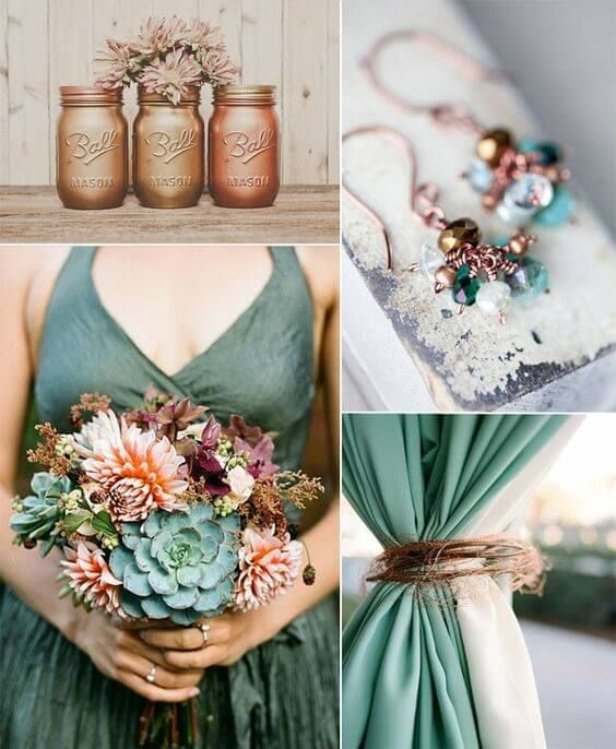 Fall Vintage Wedding Ideas: 12 Stunning Combinations For Color Schemes For Fall