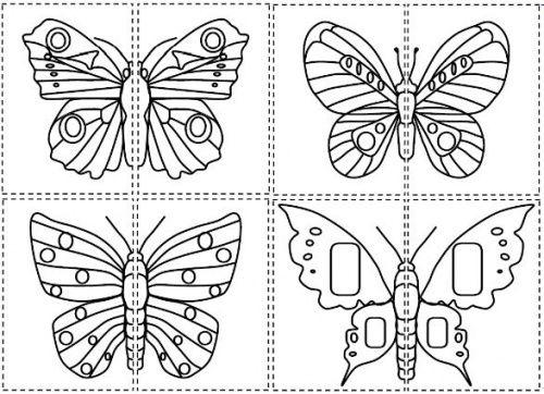 La chenille qui fait des trous papillon pinterest la - Papillon maternelle ...