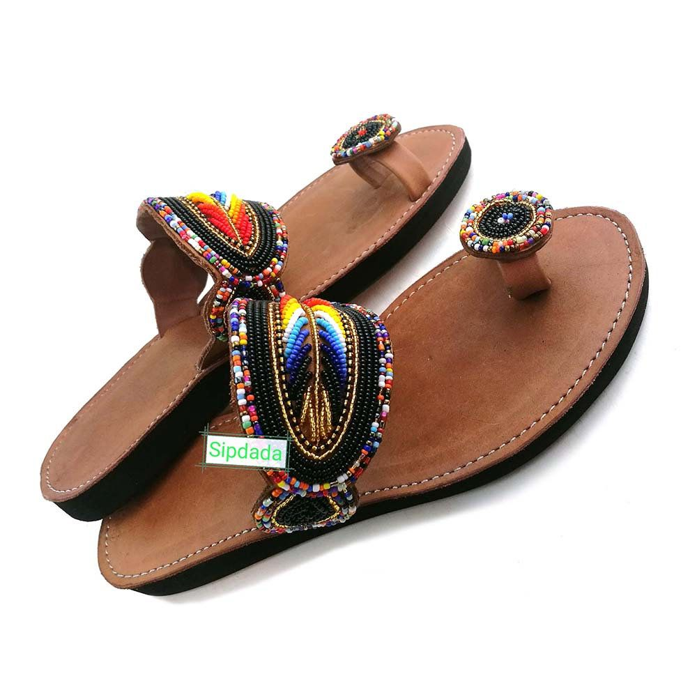 637b7dc71095 Maasai Leather sandals