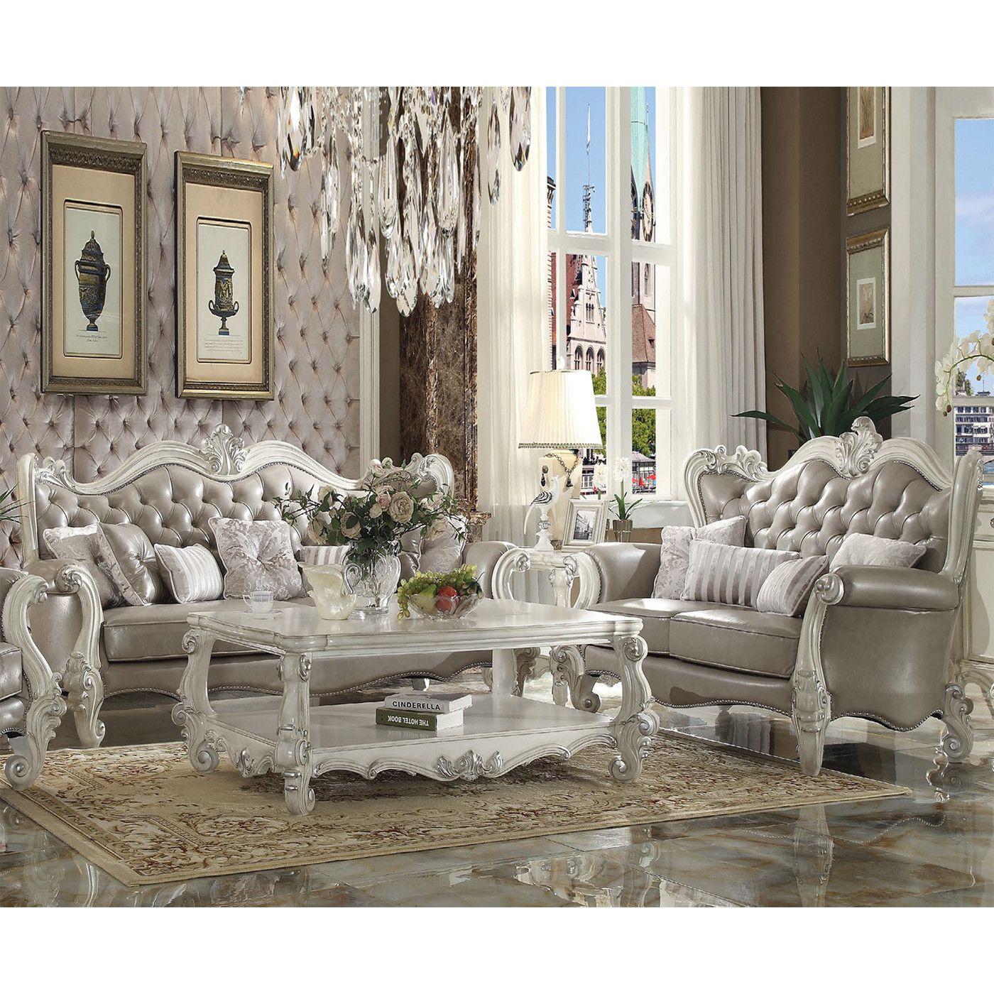 10+ Amazing White Living Room Set Ideas