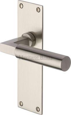 Bauhaus Door Handles On Backplate