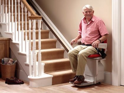 Reconditioned Stannah Stairlifts Straight Stairs Stair Lift