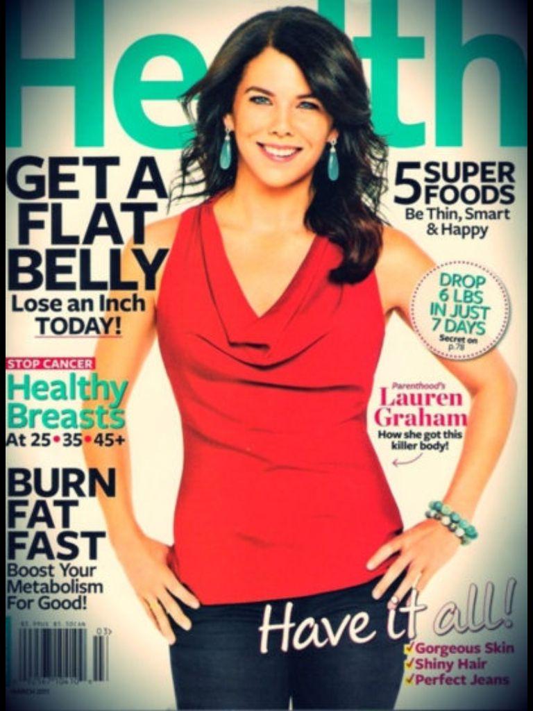 Lauren Graham Lauren graham, Lauren, Health magazine