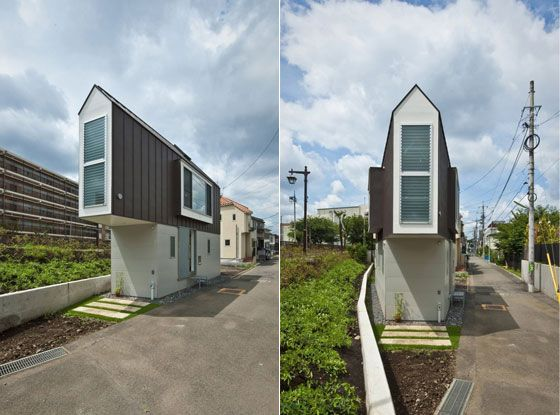 Clear and Minimalist Small House Design in Tokyo