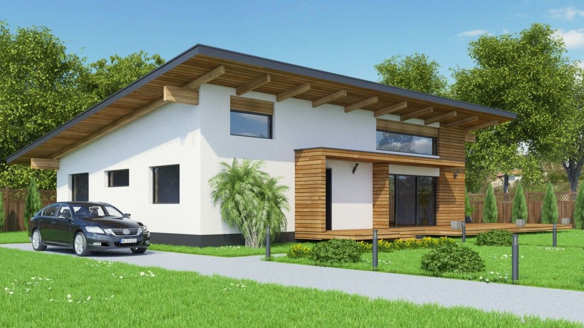 Contemporary House Bc 7 140m2 Modern Style House Plans House Exterior House Designs Exterior