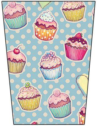 Bisnaga Flip Top Cupcakes: