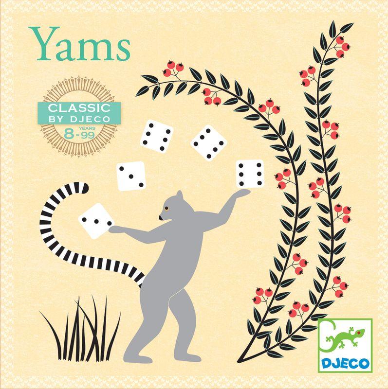 DJ5231 - Yahtzee Game by Djeco. Distributed by Kaleidoscope. | Games ...