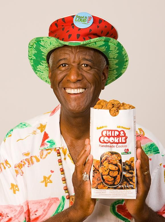 The 82-year old son of father (?) and mother(?) Wally Amos in 2019 photo. Wally Amos earned a  million dollar salary - leaving the net worth at  million in 2019