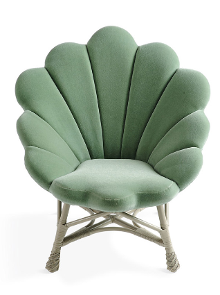 Shell Like Upholstered Venus Chair P S Home Is Where