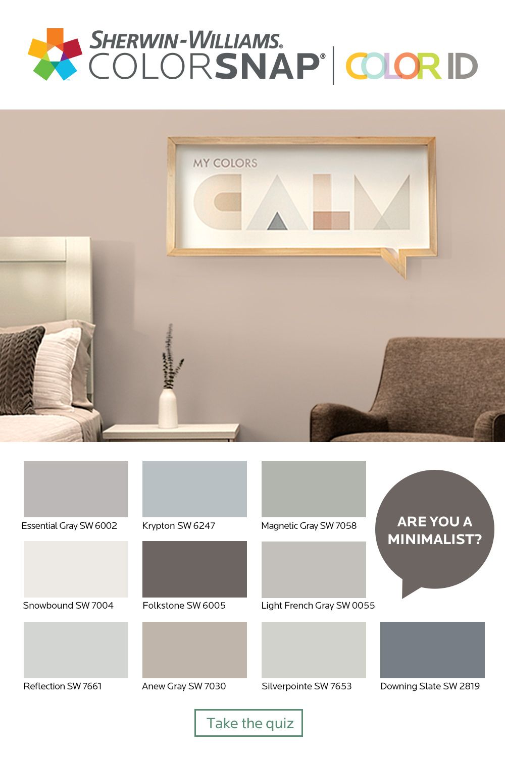 What S Your Color Id Take The Quiz To Find A Color Palette That Match Interior Paint Colors For Living Room Paint Colors For Living Room Paint Colors For Home