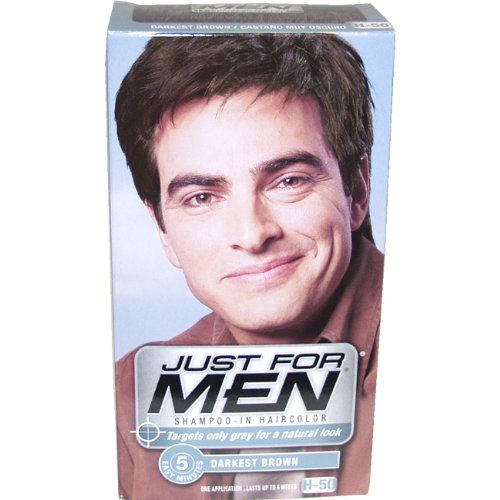 Just For Men Touch Of Gray Comb In S Hair Color Medium Brown