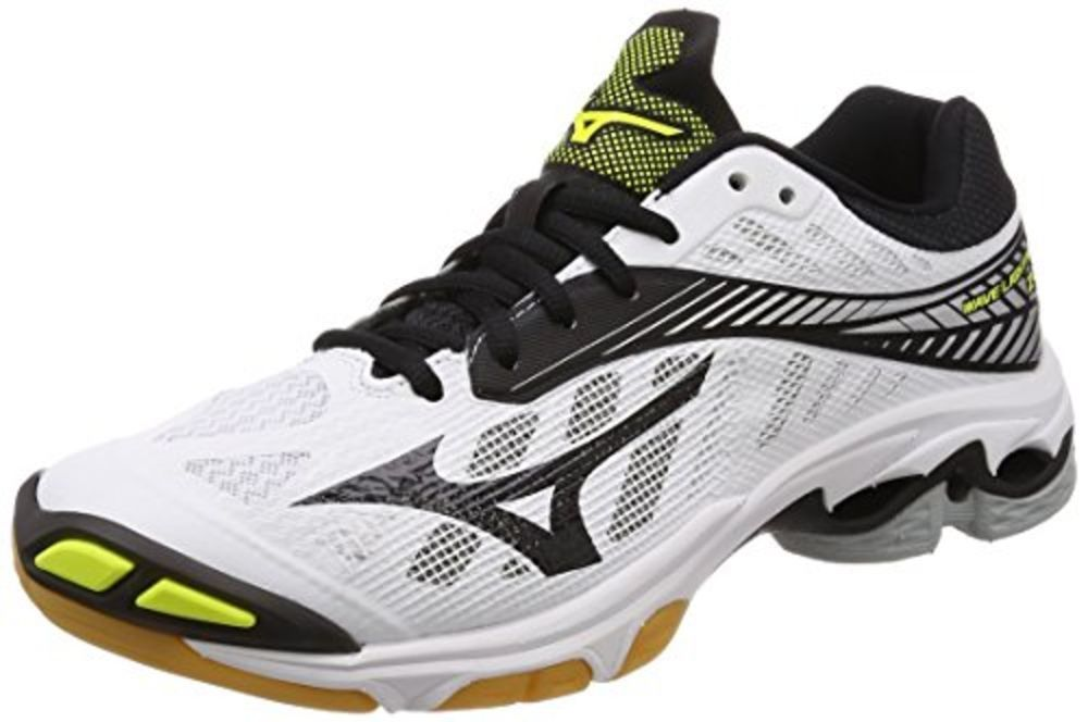 Mizuno Women's Wave Lightning Z4 Volleyball Shoe, White