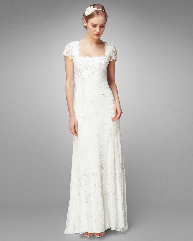 Cream Eliza Wedding Dress