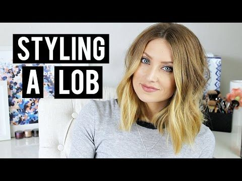 How To Style A Lob Kendra Atkins Lob Styling Lob Hairstyle Lob Haircut