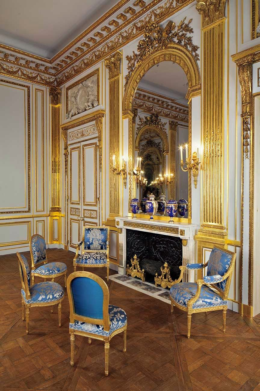 the salon doré, originally from a paris mansion, at the legion of, Badezimmer ideen