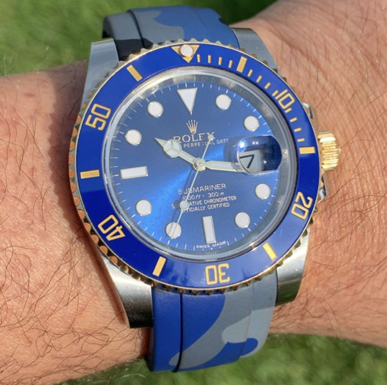 Pin on Rubber Watch Straps for Rolex