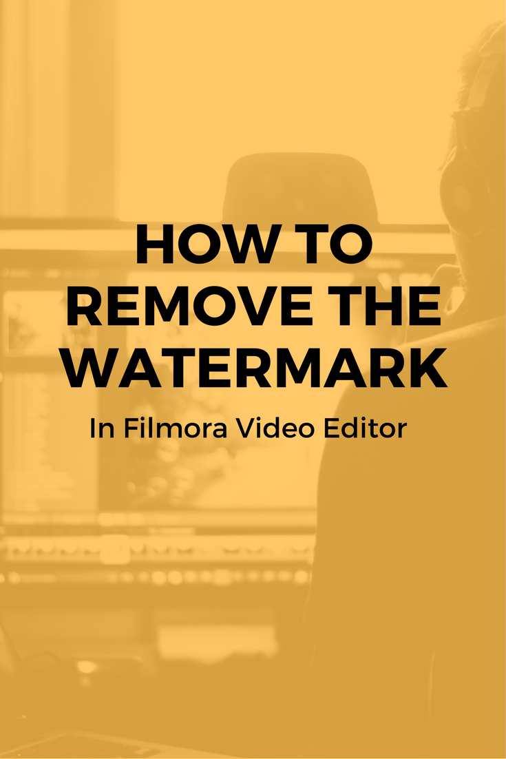 How To Remove The Watermark In Filmora Video Editor How To Remove Wattpad Books Wattpad Book Covers