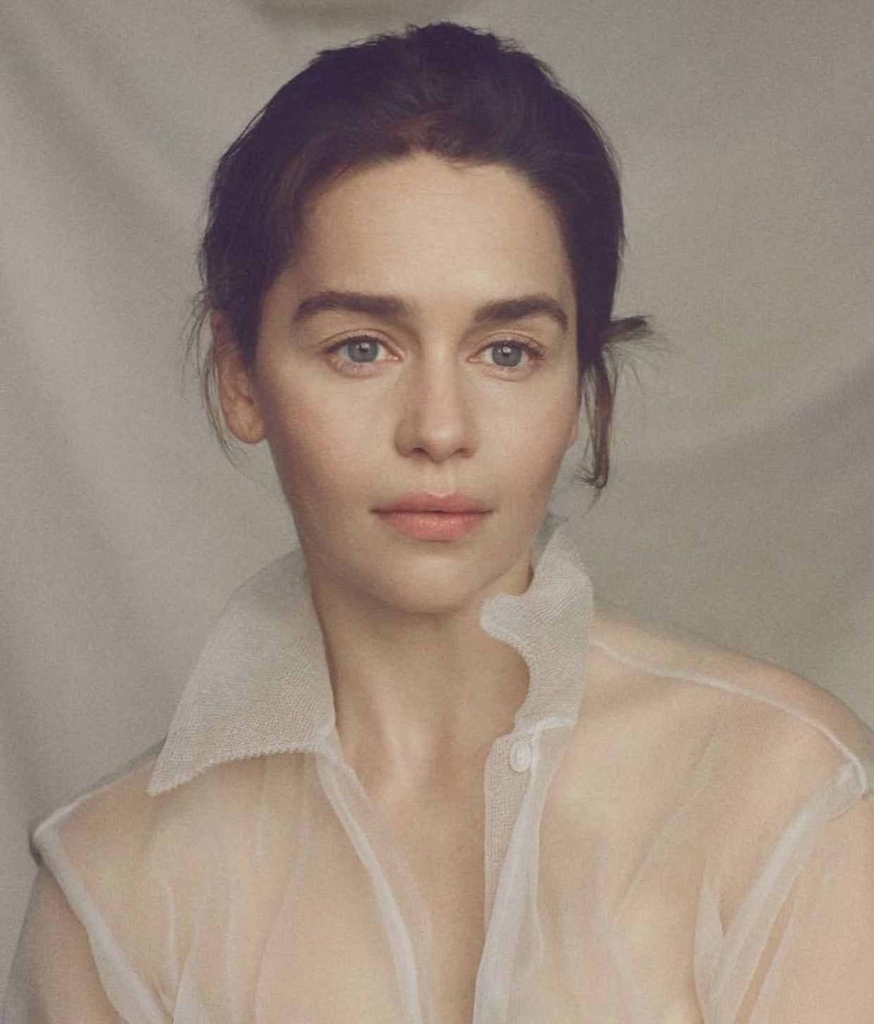 """Photo of Emilia Clarke, of """"Game of Thrones,"""" on Surviving Two Life-Threatening Aneurysms"""