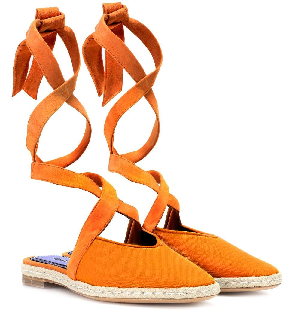 JW Anderson Canvas lace-up sandals 2014 newest cheap online i9r1V