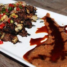 Coconut Lamb Satay Sate Kambing Recipe Lamb Skewers Satay Peanut Satay Sauce