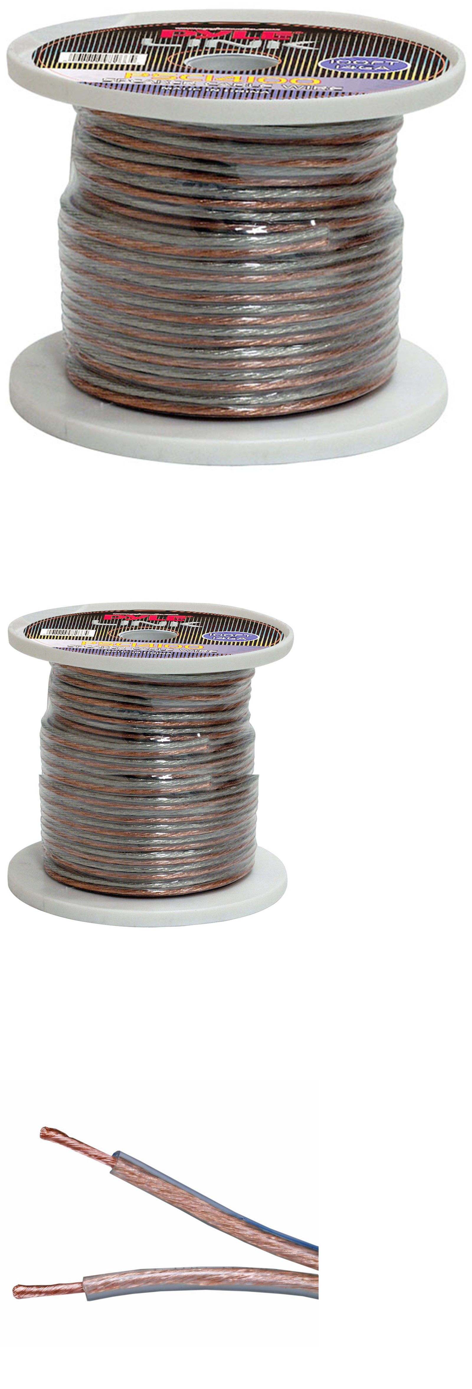 Power and Speaker Wire: Audio 14-Gauge 100 Spool Of High-Quality ...