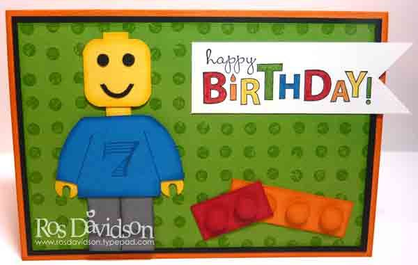 Lego Birthday Card So Cute Punch Art Pinterest Lego