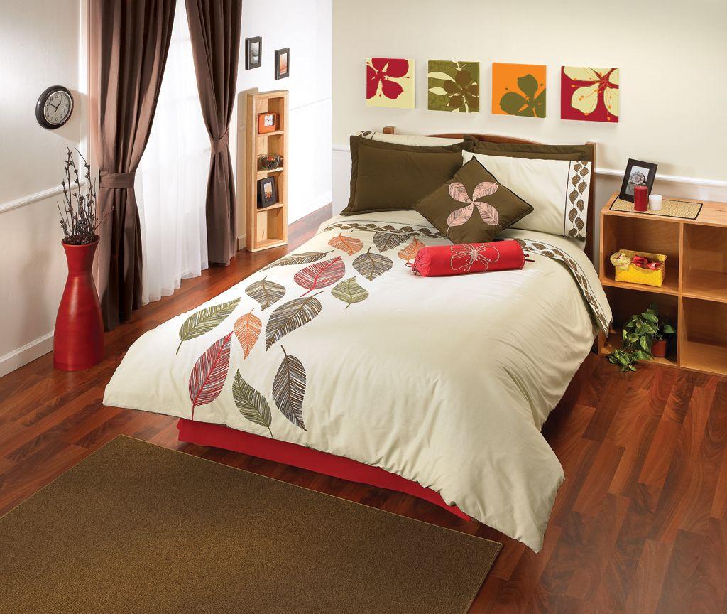 El duvet oto o de intima hogar es uno de los dise os m s - Combinacion colores habitacion ...